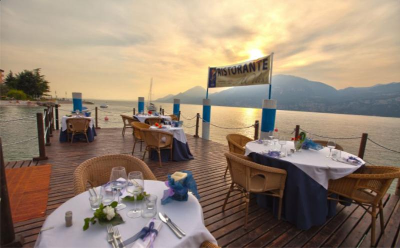 Restaurant al vas in brenzone for Vas al