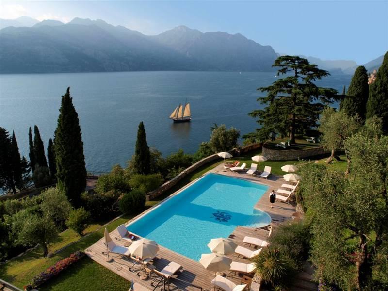Hotel Bellevue San Lorenzo Malcesine Gardasee Hotel
