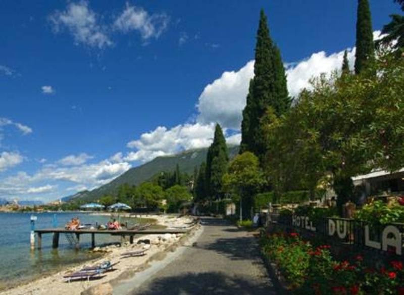 Beach Hotel Du Lac Malcesine Gardasee