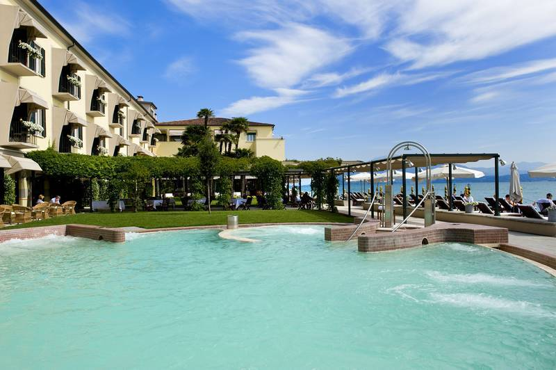 Hotel Grand Hotel Terme Sirmione Gardasee Hotel Grand Terme