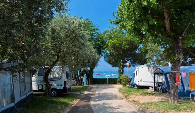 Camping Continental 3 Stelle Bardolino Lago Di Garda