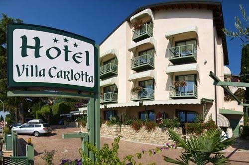 Hotel villa carlotta 3 stelle torri del benaco lago di garda for Hotel villa del lago